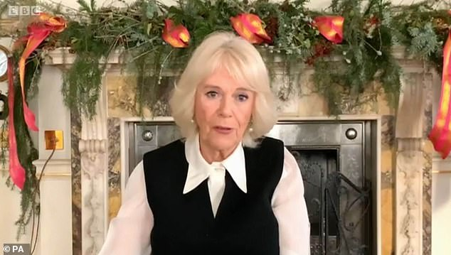 Royal surprise! As viewers reflected on a series of Strictly like no other as it battled through difficult circumstances to delight millions of viewers, The Duchess of Cornwall made a cameo to credit the BBC series with 'lifting the whole country's spirits'