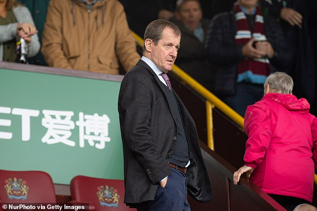 Burnley fan Alastair Campbell sparked concerns by posting his match pass for Arsenal game