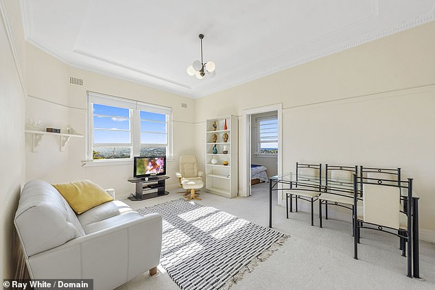 Home sweet home! The Morning Show's Angela Cox has splashed $978,000 on a two bedroom, one bathroom apartment in Bondi