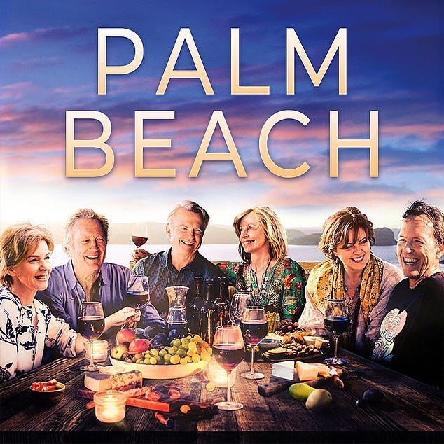 Bryan Brown (second from left) starred in an Australian comedy film, Palm Beach, which was directed by his wife. However, the family does not actually live on the northern beaches