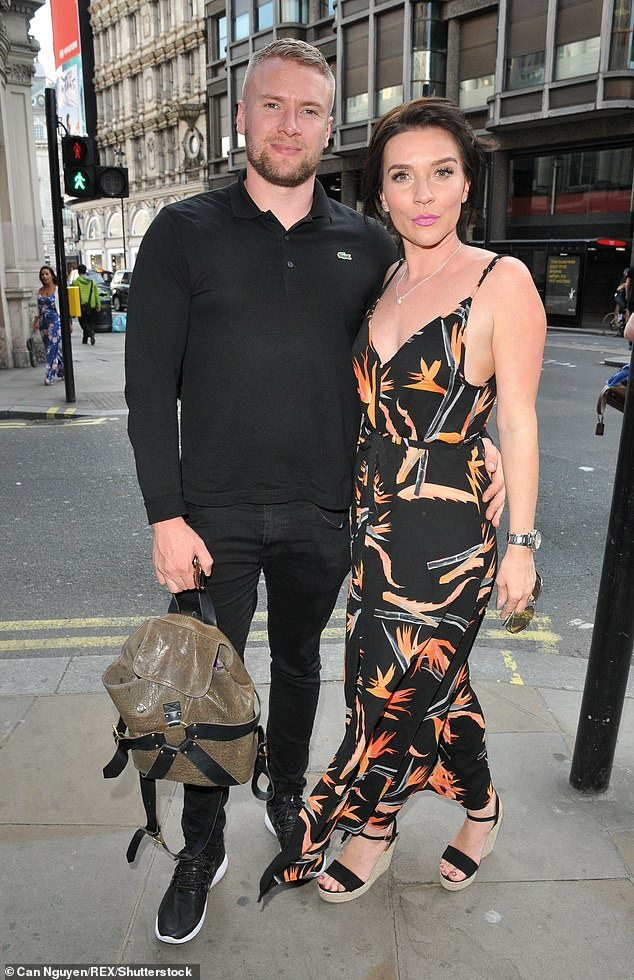 Marriage ends: The TV star hasn't had the easiest of years, which has seen her secretly separated from her two-year-old husband Liam (pictured in June 2018)