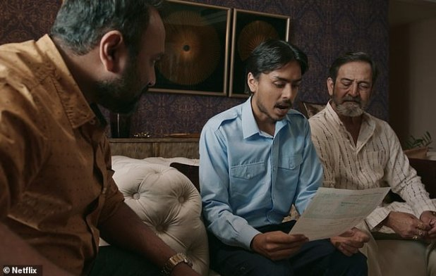 Fall Man: In return, Ashok and his family falsely claim Balaram that he was the driver