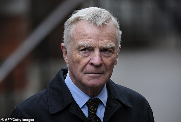 Former Formula 1 boss Max Mosley had taken legal action against Associated Newspapers