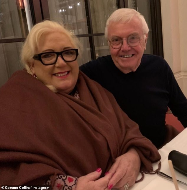 Devastating:Gemma Collins has revealed her parents Alan and Joan are 'extremely unwell' after both tested positive for COVID-19