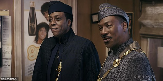 They're back! The film circles around the former Prince and to be King Akeem discovering he has a son he didn't know existed living in America, as seen in the just released trailer on Tuesday; Eddie and Arsenio Hall