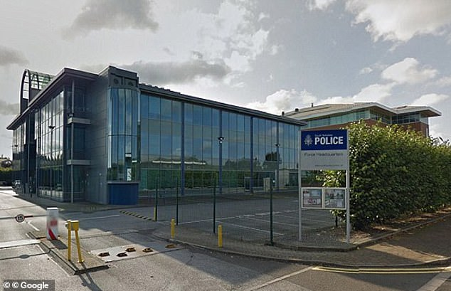 Jonathan Carnell worked in South Yorkshire Police's Child Sexual Exploitation department when made a series of lewd remarks about the schoolgirl after seeing her photo on her mother's mobile phone. Pictured: SYP's headquarters