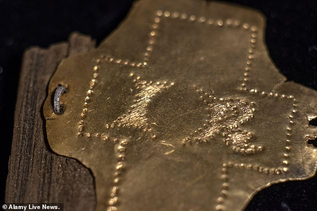 Archaeologists working in the Milevsko monastery in the Czech Republic unearthed the six-inch long piece of nail inside a box adorned with a 21-karat gold cross.The box was built between 260 and 416 AD and is inscribed with the letters 'IR,' which translates to 'Jesus is King'