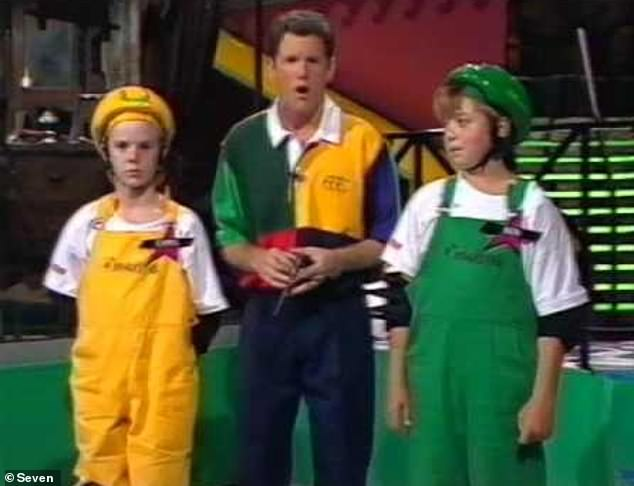 Throwback: James hosted Channel Seven's A*mazing and Saturday Disney back in the '90s. He also dabbled in acting and appeared in Blue Heelers and McLeod's Daughters
