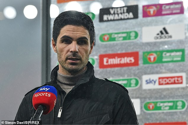 Arsenal boss Arteta was distraught by the loss but insists he still has fighters in his squad