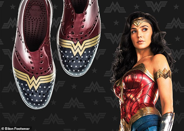 Walk like a warrior:With fans eagerly awaiting the highly-anticipated superhero sequel Wonder Woman 1984 on Christmas Day, fans can also get the chance to 'walk like a Warrior' as well