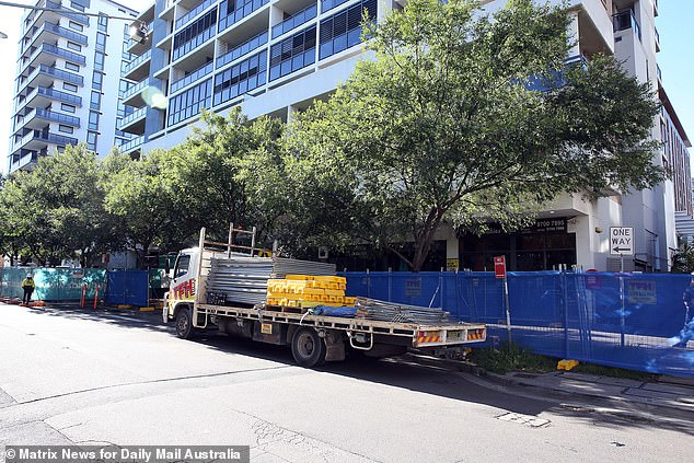 The barricades were erected days after best mates Ward Mellick and Scott Hill were told their business had won a reprieve from being forced to close on December 18