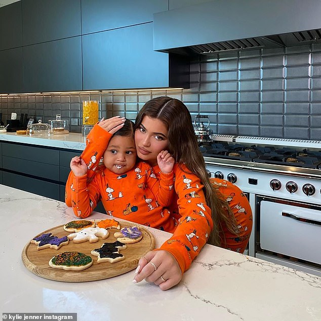 Thinking of her: In February of this year, Kylie told Harper's Bazaar that she and her ex will always make sure their daughter is taken care of