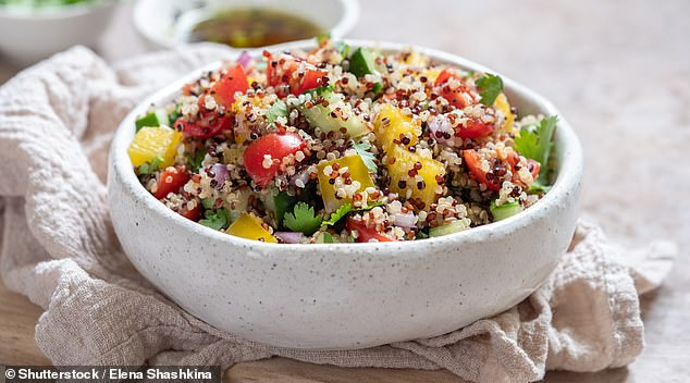 Quinoa, a hugely trendy food a few years ago the South American grain is now ubiquitous on menus across the UK, but still often mispronounced - with 1300 Brits searching for how to pronounce it a month in 2020.