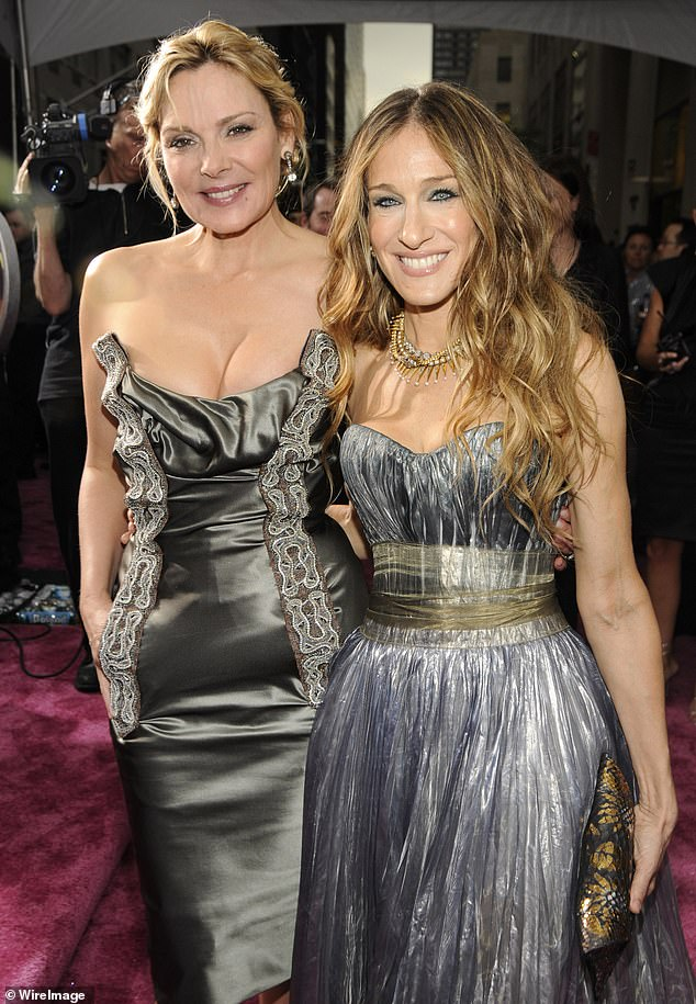 Feud: A 'well-placed industry insider' said Cattrall wouldn't return after years of feuding with Sarah Jessica Parker, 55, and requests for increased compensation. Pictured in 2008