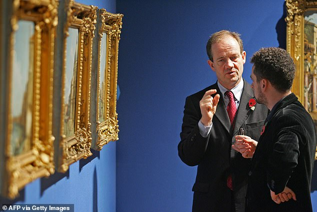 It is understood Desmond Shawe-Taylor (pictured) could be the last Surveyor of the Queen's Pictures after departing the role under the 'voluntary severance programme'