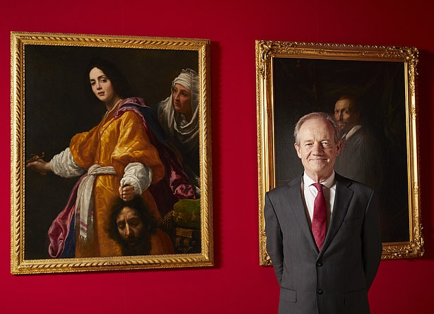 The Royal Collection Trust confirmed on Tuesday that Mr Shawe-Taylor, 65, and his assistant Rufus Bird would leave amid cost-cutting plans, with the roles 'lost and held in abeyance' for 'the time being'