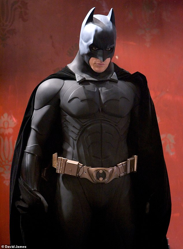 A superhero with super style: Jaden also named the character Batman among his list of style idols. Christian Bale pictured in the role in 2005