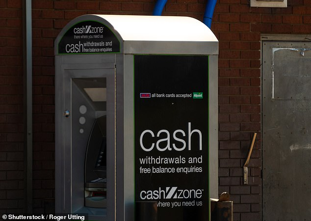 Cashing out:Bitcoin holders can now sell their cryptocurrency at 16,000 Cashzone ATMs and instantly cash out between £10 and £500.