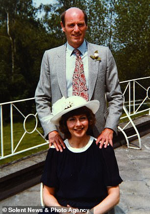 Tony Williams and his late wife Jo