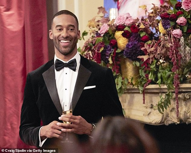Ready for more? Chris added 'hopefully we'll be back' on January 4 for the 25th season premiere of The Bachelor featuring the first African-American lead Matt James (pictured)