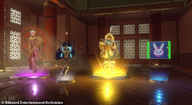 Loot boxes feature in many modern games, including popular shooter Overwatch. The boxes are regularly given to players when they level up or accomplish certain tasks, and when opened give the player a random in-game reward (pictured)
