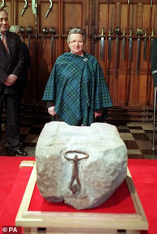 Pictured:Kay Matheson, one of the four who stole the Stone of Destiny on Christmas Day in 1950