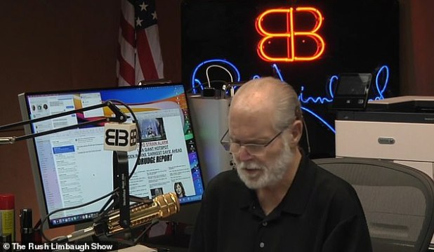 Rush Limbaugh thanked the audience for their support during their last radio show of 2020