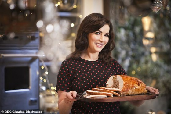 Nigella Lawson has revealed that she will be cooking pork instead of turkey for Christmas because it won't be
