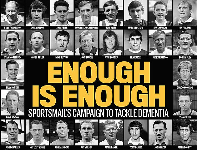 Former footballers and MP's have taken Sportsmail's dementia campaign to the Government