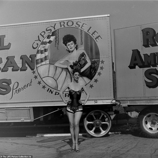 Gypsy Rose Lee treated herself to all the trappings of fame and fortune. The New York Times clocked her grand entrance to a Las Vegas gig in 1956: 'She arrived in a specially built maroon and gray Rolls‐Royce. It disgorged 27 pieces of luggage, her 11‐ year‐old son, five Siamese cats, a guinea pig, two turtles in a fishbowl and a net shopping bag filled with oranges, jelly beans, cat food, dried bugs for the turtles, graham crackers and magazines. Her trunks had preceded her'