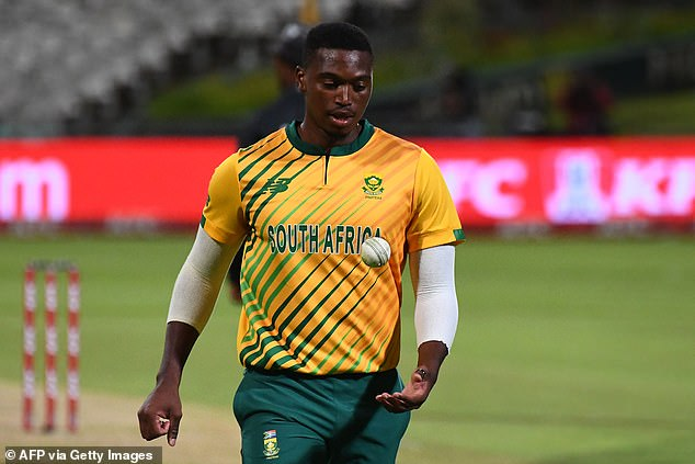 Lungi Ngidi was criticised for urging the South African team to take an anti-racism stance