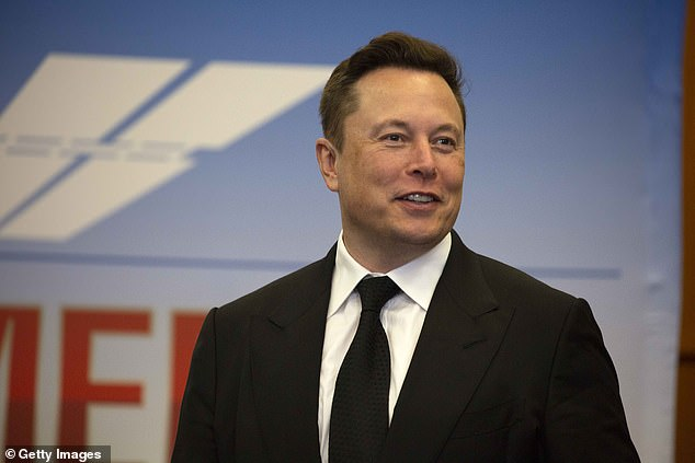 OneWeb faces stiff competition from Space X's Elon Musk (pictured) and Amazon's Jeff Bezos