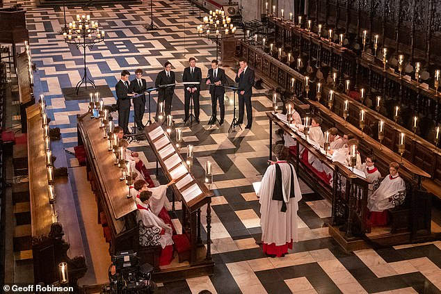 One viewer told The Mail on Sunday: ¿All the young choristers were white. I¿ve got mixed-race grandchildren and I was appalled. I can¿t believe that the King¿s College School doesn¿t have any black pupils who can sing¿