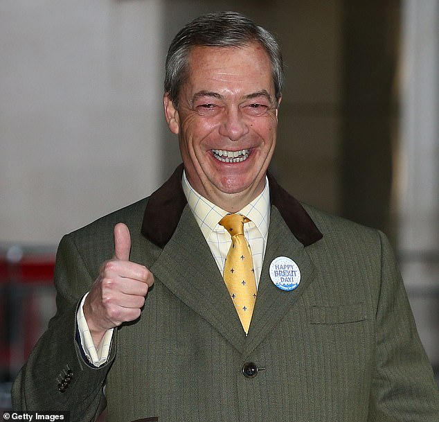 The war is over. As 2021 dawns, the most dramatic political conflict of our lifetime will draw to a close, writes Nigel Farage (pictured)