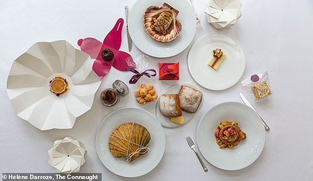 A gourmet five-course New Years Eve takeaway meal, for two, from the swanky Connaught hotel in Mayfair, central London will cost you a cool £415 pounds