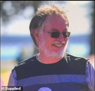 Gregg Shaw, 67, (pictured) survived two days in a wrecked car