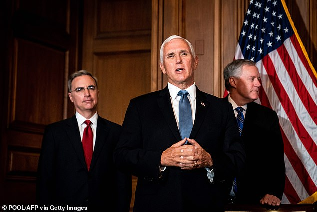 'Vice President Pence is going to be on the receiving end of Donald Trump's wrath – and it's erratic, it's intense and at many times it makes absolutely no sense,' she said