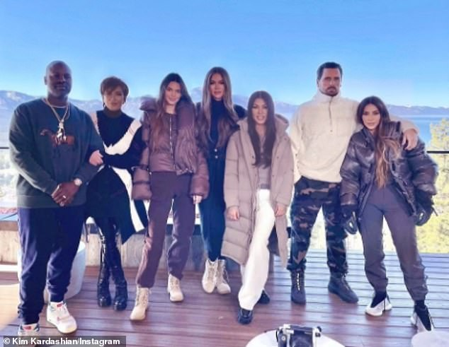 2020 family portrait: The famous family have been hard at work filming the 20th and final season of their the E! Network reality series, Keeping Up with the Kardashians, premiering early 2021