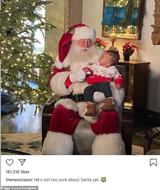 Forging on ahead into the holidays on her own:The tirade came after an earlier venting session from Azalea, that had to do directly with her Christmas plans