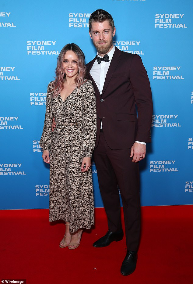 Going, going, GONE: Former Home and Away star, Rebecca Breeds, has sold her investment apartment in Sydney for an impressive $810,000. Pictured with husband Luke Mitchell
