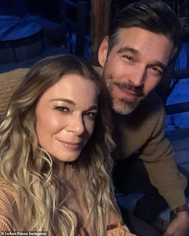 Moving forward:Brandi Glanville's relationship with LeAnn Rimes has come a long way since her former husband Eddie Cibrian, 47, had an affair with the singer, 38, nearly 10 years ago; LeAnn and Eddie pictured in November