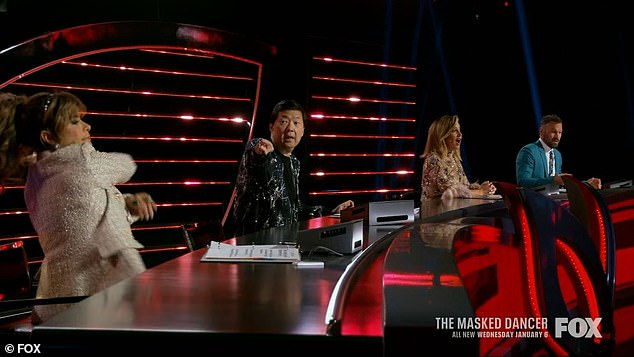 The panelists:Ten celebrities will compete on the new show with Paula Abdul, 58, Ken Jeong, 51, Ashley Tisdale, 35, and Brian Austin Green, 47, serving as panelists