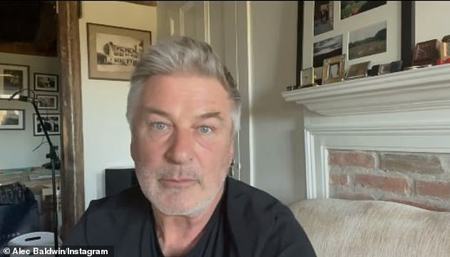 Hilaria's husband Alec took to Instagram on Sunday - not to address the allegations, but rather to blast outlets like TMZ and the New York Post for printing claims he called 'spectacularly false'