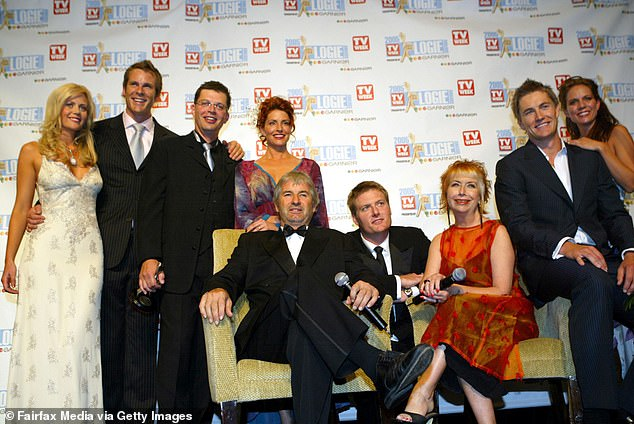 New generation: In an interview with TV WEEK on Monday, Posie revealed that the script will focus heavily on Claire's daughter Charlotte, who she's nicknamed BOM ('Baby of McLeod'). Pictured, the show's cast at the Logie Awards in Melbourne in May 2005