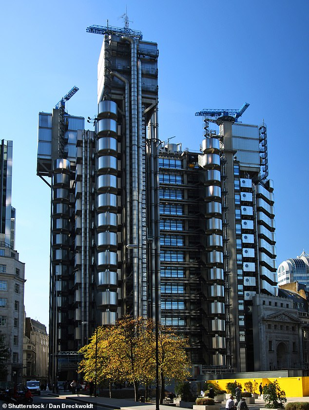A spokesman for Lloyd's of London apologised for the role the company played via the Lloyd's market in the 18th and 19th Century slave trades, adding that it was an 'appalling and shameful period of English history, as well as our own'. Pictured: The Lloyd's building in London