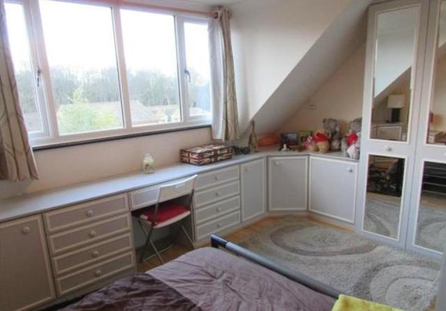 13)This four-bedroom detached house in Newsome near Huddersfield in West Yorkshire is on the market for £189,000. The modern property features a garage, a lawned back garden and off-road parking, but was first listed on March 8, 2016