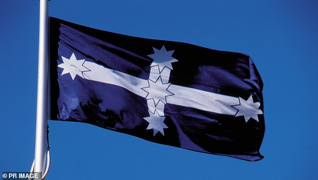 Construction giant Lendlease has challenged the Australian Building and Construction Commission's ban on the Eureka flag (pictured)