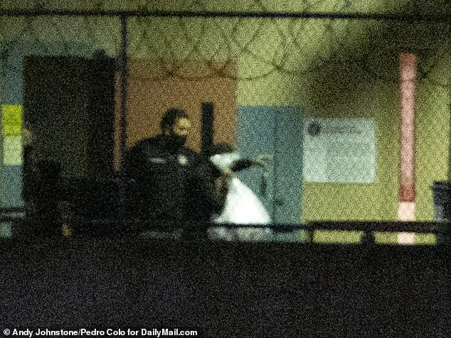 Despite the prison telling DailyMail.com she would not be shown any special treatment, a guard was seen letting Loughlin exit the building through a rarely used side door