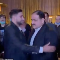 Amir Khan breaks COVID rules AGAIN as he greets Pakistan politician two days before testing positive