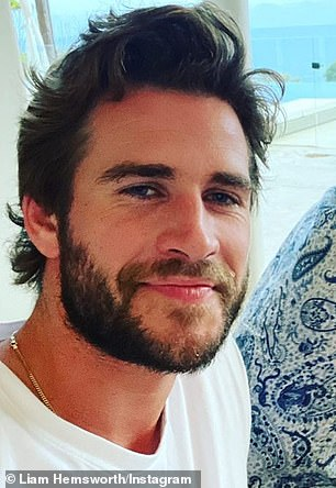 Family: The family are also spending time with Chris' brothers, actors Liam (pictured) and Luke Hemsworth, and their respective partners